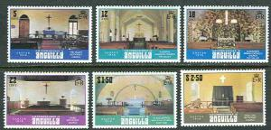 Anguilla # 343-48 Easter 1979  (6) Mint NH