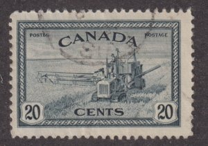 Canada 271 King George VI Peace Issue, Harvesting 1946