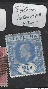 ST HELENA   (PP1303B)   KE 2 1/2D  SG 64   MNH
