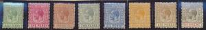 Bahamas Stamps Scott #49 To 54, Mint Hinged, Short Set - Free U.S. Shipping, ...