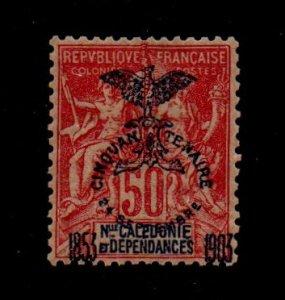 New Caledonia 79 Mint Hinged