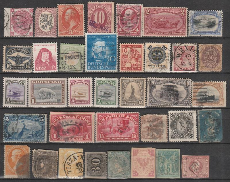 Worldwide Lot- Old Classics Damaged CV $1400+ (A2580)