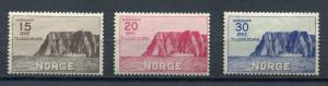 Norway 1930 Sc B1-3 MI 159-1 MNH/MvLH North Cape Issue Cv 200 Euro