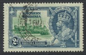 Northern Rhodesia  SG 19 SC# 19 Used / FU  -  Silver Jubilee - see details