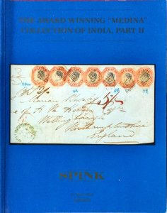 Auction Catalogue Medina Superb Classic INDIA STAMPS and Covers