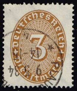Germany #O62 Official - Numeral; Used (3Stars)