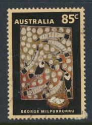 Australia SG 1390  Used  - Painting Aboriginal