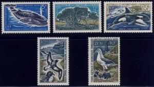 Scott #25-8 Whale & Albatross MNH