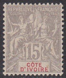 Ivory Coast 8 MLH CV $22.00