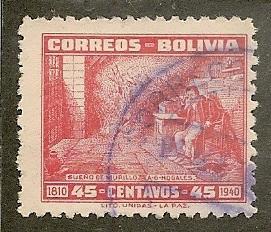 Bolivia          Scott  272    Dream of Murillo     Used