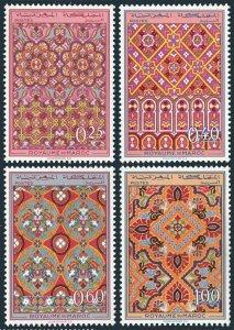 Morocco 195-198,MNH.Michel 624-627. Ornamental design,1968.