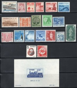 Japan 1930's-50's MNH Selection of Better Stamps CV$150