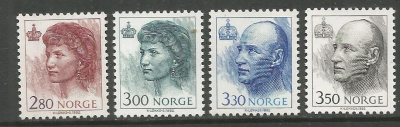 NORWAY, 1004-1008, MNH, 1992-2002 ISSUE