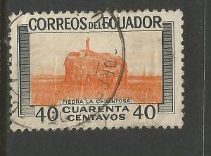 ECUADOR 580 VFU Z6923-3