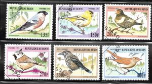 Benin 1997 SC# 994-999