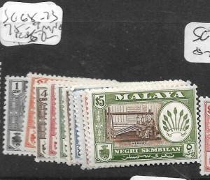 MALAYA NEGRI SEMBILAN  (PP2303B) ARMS SG 68-73, 75-9  MNH