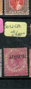 MALAYA JOHORE (P2311B)  QV  2C  SG 10CA   VFU