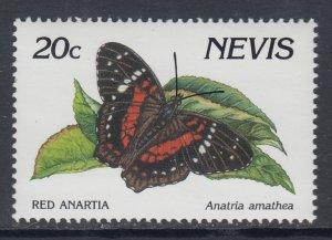 Nevis 643 Butterfly MNH VF