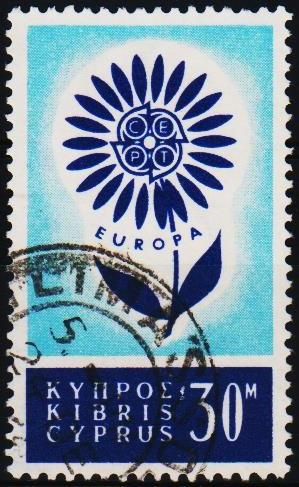 Cyprus.1964 30m S.G.250 Fine Used