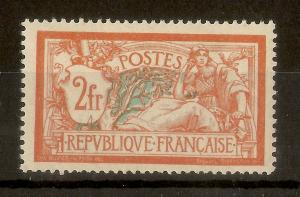 France 1920 2fr Merson SG387 MNH Cat£65