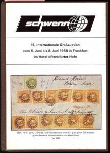 Schewnn: Sale # 15  -  Schwenn 15. Internationale GroB-Au...