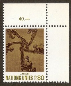 United Nations UN Geneva 1972 - Scott # 29 Mint NH. Ships Free With Another Item