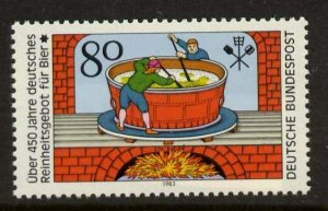 Germany 1396 MNH Beer Pureness Law, Art