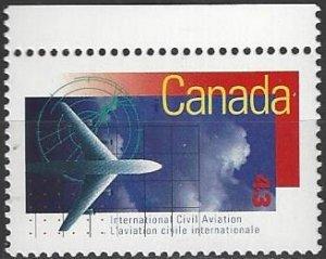 Canada  1528  MNH  ICAO 50th Anniversary