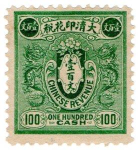 (I.B) China Revenue : Duty Stamp $100