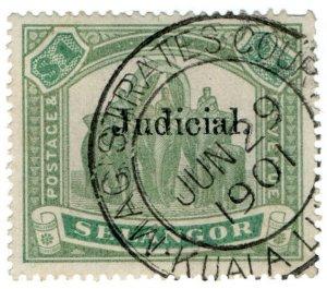(I.B) Malaya States Revenue : Selangor Judicial $1