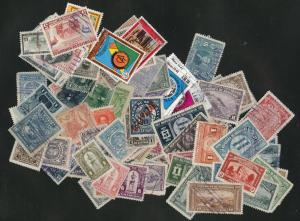 Honduras Packet of 100 different mint and used stamps