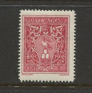 STAMP STATION PERTH Vatican City #72 General Issue 1940 MLH CV$0.50