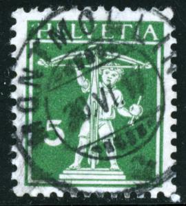 SWITZERLAND #148, USED - 1909 - SWIT003