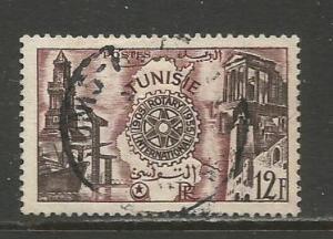 Tunisia  #259  Used  (1955)  c.v. $0.85