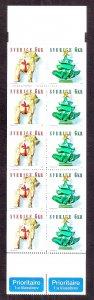 SWEDEN SC# 2425c  COMP BKLT   FVF/MOG  2001