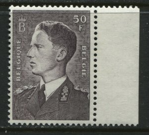 Belgium 50 francs violet brown unmounted mint o.g. NH