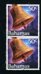 Bahamas   Pair 50cent -2 used 2019 PD