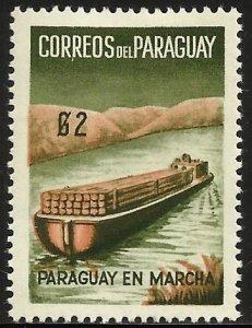 Paraguay 1961 Scott# 580 MH