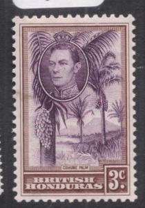 British Honduras SG 152 MOG (1dia)