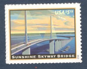 4649 Sunshine Skyway Bridge Priority Mail Single Mint/nh FREE SHIPPING