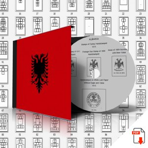 ALBANIA STAMP ALBUM PAGES 1913-2010 (391 PDF digital pages)