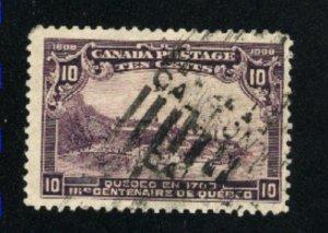 Canada #101  used   1908   PD