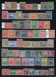 NEWFOUNDLAND-HIGH QUALITY MINT COLLECTION 170 STAMPS MINT SOME NH/LH/HR.