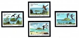 St Lucia 770-73 MNH 1985 Nature Reserves  (KA)