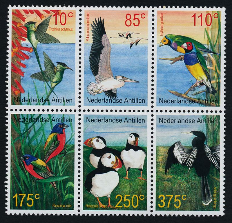 Netherlands Antilles 968 MNH Birds
