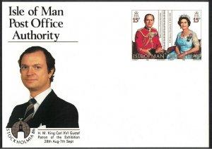 Isle of Man Royal Birthdays 'Stokholmia 86' Philatelic Exhibition Prepaid