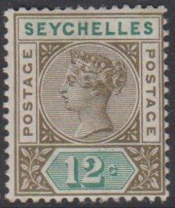SEYCHELLES - Sc 8 / MINT HR - Victoria