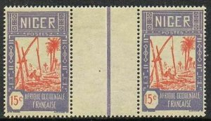 Niger 36 gutter,MNH.Michel 35 French Niger. Drawing water from well,1928.