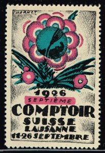 World Exhibition, Convention, Stamp Show, Poster, Label stamp Collection LOT #A8