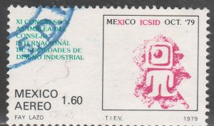 MEXICO C617, Industrial Design Congress USED. VF. (1347)